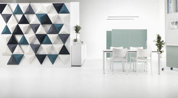 Isolamento acústico de paredes interiores Abstracta