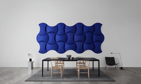 Isolamento acústico de parede Abstracta