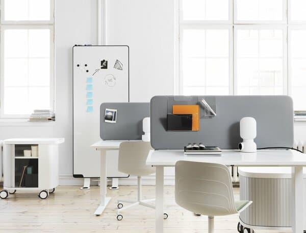separadores de secretária acústicos abstracta