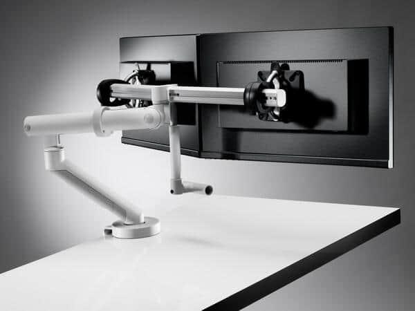 Braço ergonómico para duplo monitor CBS