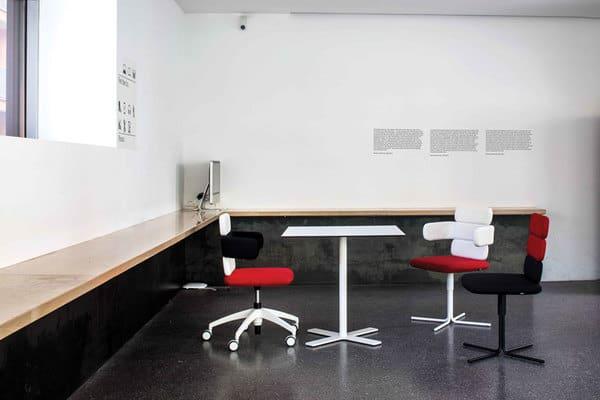 Cadeiras de design para escritório luxy