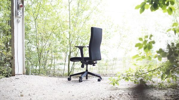 As cadeiras da Trend Office são produzidas de forma sustentável