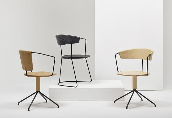 Cadeiras Uncino, da Mattiazzi