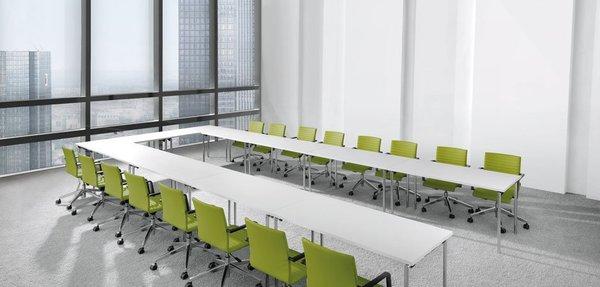 Cadeiras de visitante dauphin para salas de reunião