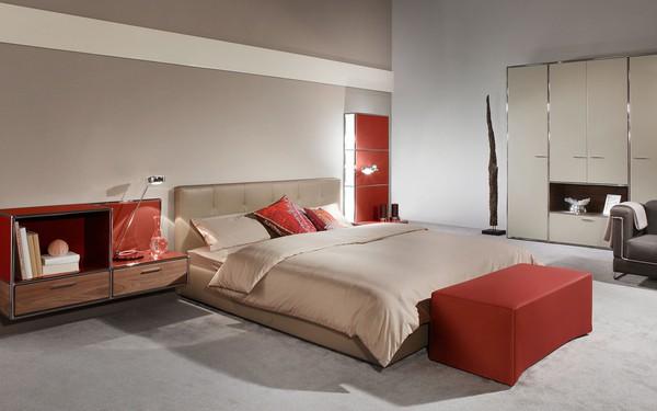 Quarto com mobiliário modular Dauphin Home