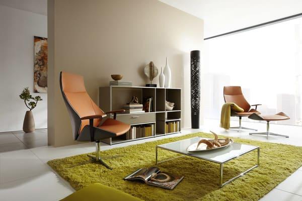Cadeiras lounge de luxo Dauphin Home