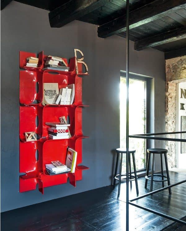 Estantes modernas de design italiano magis