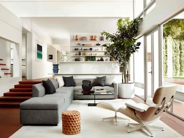 Cadeira lounge Eames, que pôs a Herman Miller no mapa do mobiliario de escritorio internacional
