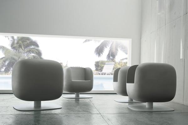 cadeiras de design luxy para exterior ou interior