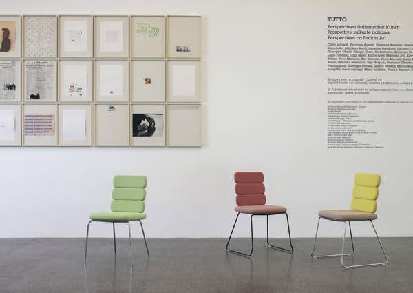 cadeiras cluster - assentos modulares da marca italiana