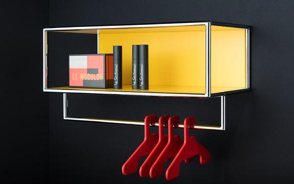 Os móveis para hall de entrada da marca alemã são feitos à medida