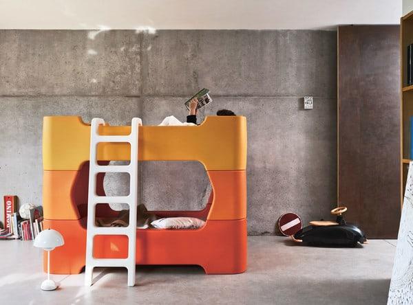 beliche da coleção de mobiliário infantil Magis