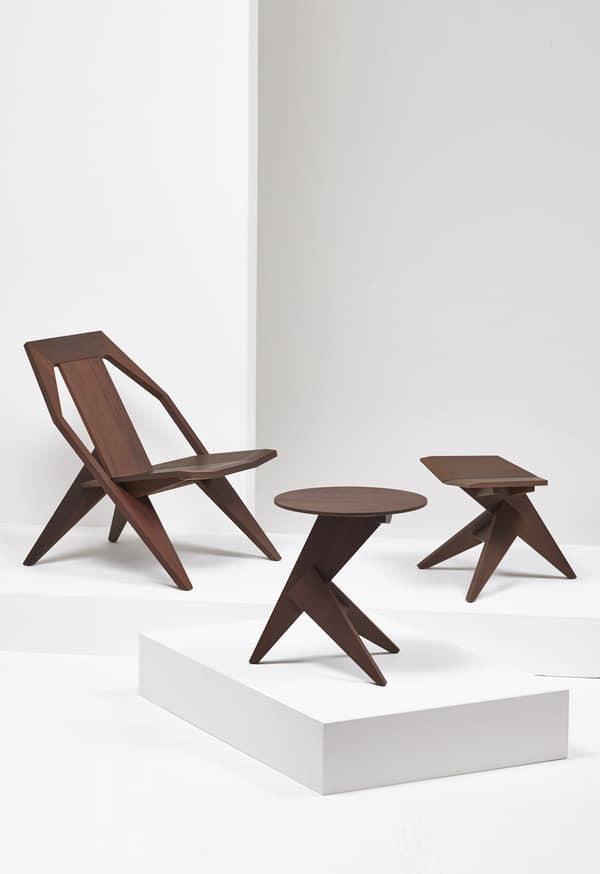mobiliário de madeira Mattiazzi