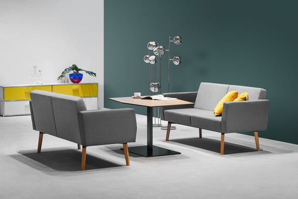Design das mesas de apoio Dauphin