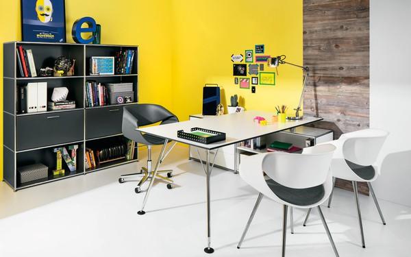 Escritório com soluções de arrumação modulares Dauphin Home
