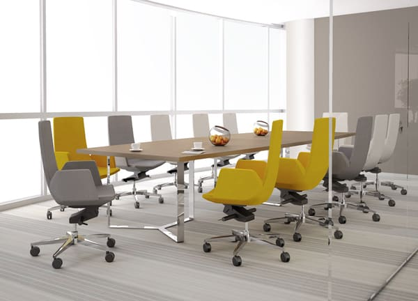 Cadeira de executivo Noth Cape, da Narbutas
