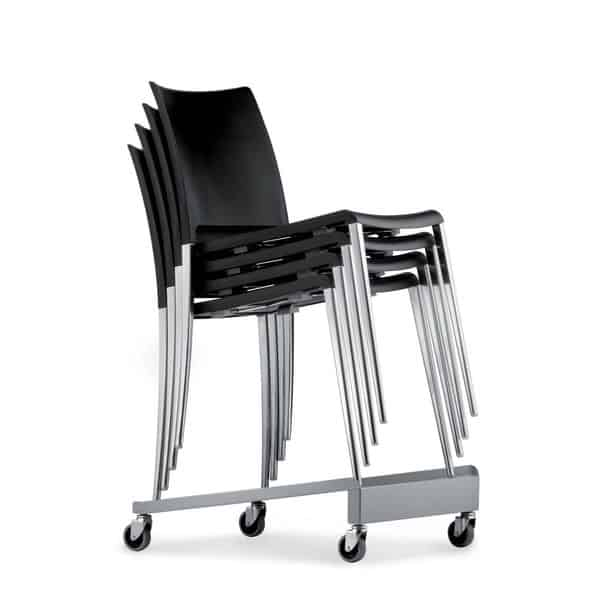 Equipamento de escritório para cadeiras empilháveis Pedrali