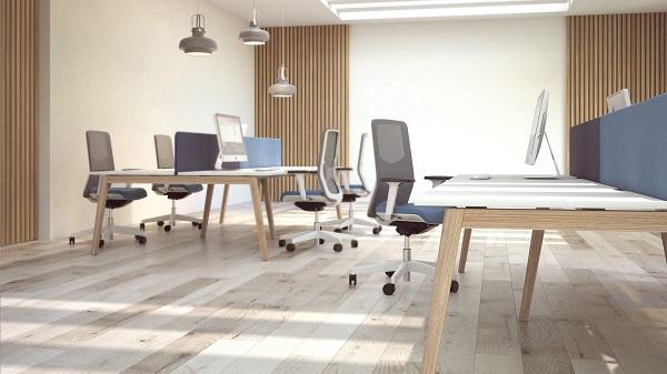 Linha de secretárias de escritório Nova Wood