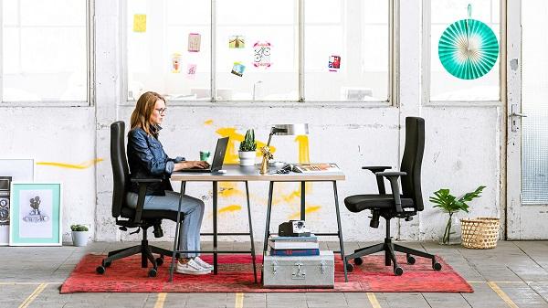 Cadeiras de escritório com costas altas Trend Office