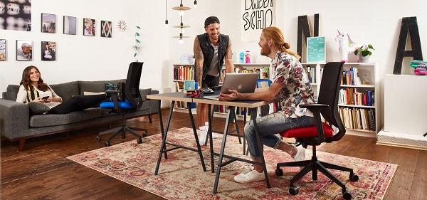 Cadeiras operativas to-sync, da Trend Office
