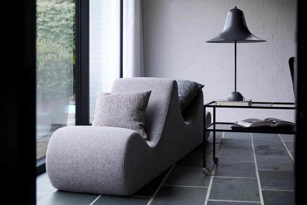 Sofá lounge de Verner Panton