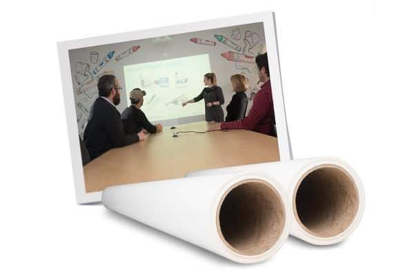 Papel de parede autocolante ideal para apresentações